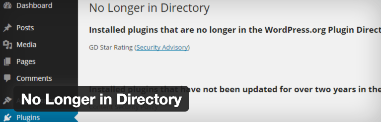 How to Check if Installed Plugins Are No Longer in the Plugin Directory